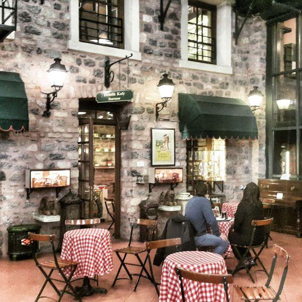RAHMİ KOÇ MÜZESİ CAFE LEVANT