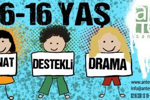 Çocuklar İçin Sanat Destekli Drama Eğitimi Ante Sanat'ta