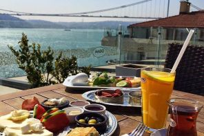 BEST BREAKFAST SPOTS AND PRICES BY THE BOSPHORUS, ORTAKOY, ISTANBUL