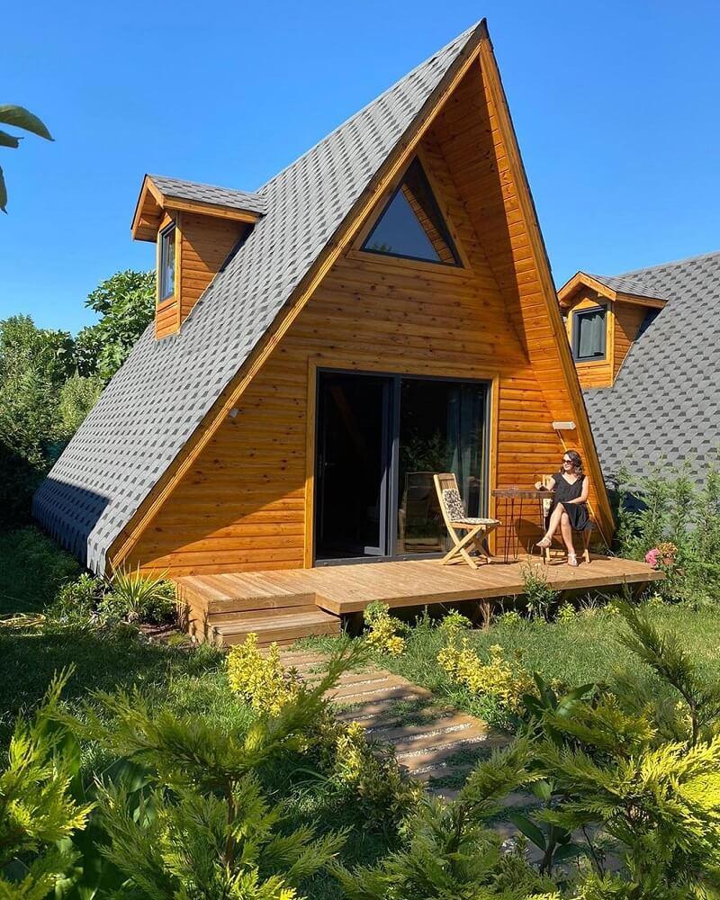 sapanca da en iyi bungalov evler ve