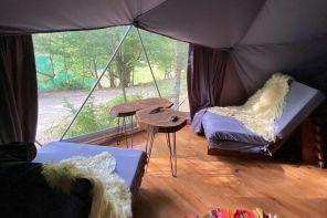Sülüklügöl'de Modern Çadır Kampı, ALA GLAMPİNG