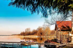 Sapanca Gölü'ne Sıfır Salıncaklı ve Kayıklı Bungalov