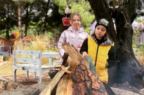 İzmir'de Çocuklu Ailelere Uygun Bungalov Evler, Morkoyun Kampı